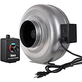 Amazon Com Ipower 6 Inch 442 Cfm Duct Inline Fan With 6