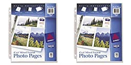 Avery Mixed Format Photo Pages, Acid Free, Pack of 10 (13401), 2 Packs