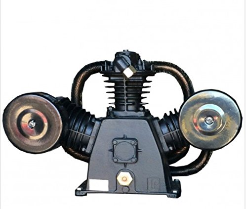 LP LPW8060T 3 - 7.5 HP Three Cylinder Two Stage Air Compressor Pump - Three Cylinder