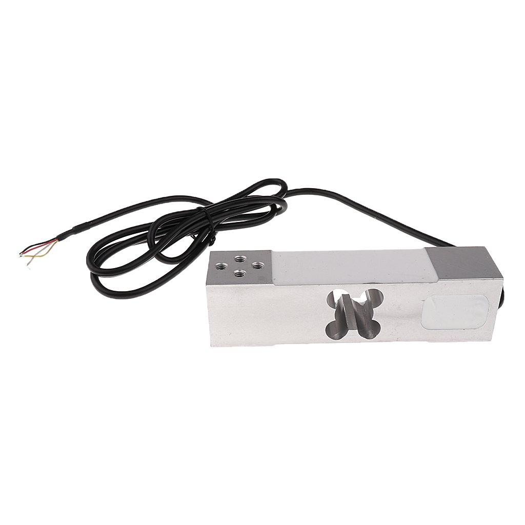 MagiDeal Sensore Di Pesatura Scala Elettronica Del Peso Cella Di Carico In Lega Di Alluminio- Argento - 100 kg