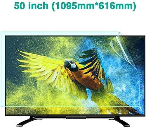 HDCW Pantalla de 50 Pulgadas de TV Protector antideslumbrante, Anti luz Azul de Alta definición de Pantalla Resistente a los arañazos Protector de Protección de los Ojos, Ultra-Clear Film Protector,A: Amazon.es: Hogar