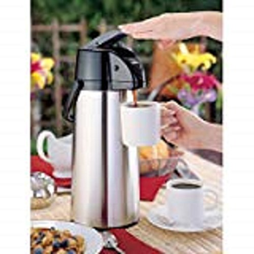 (Beverage Dispenser 9 Cup Airpot Color: Silver)