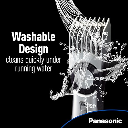 037988562220 - Panasonic ER224S Men's Cordless Wet/Dry Hair, Beard and Body Electric Trimmer carousel main 4