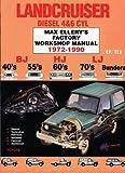 Landcruiser Diesel 4 and 6 Cylinder, 1972-1990, Max Ellery, 0646018558