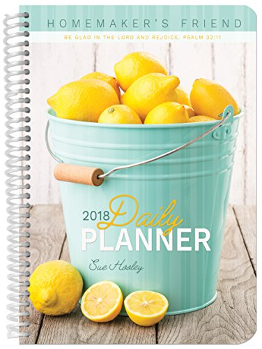 2018 Daily Planner: Homemaker's Friend