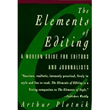 Elements of Editing A Modern Guide for Editors and Journalists