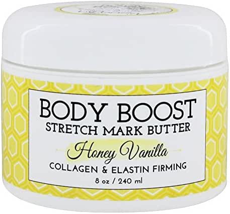 Body Boost Stretch Mark Butter Honey Vanilla 8 oz
