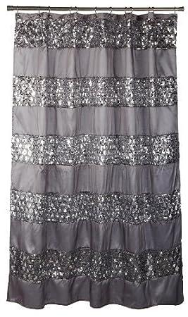 Amazon.com: Popular Bath   Purple And Grey Shower Curtain