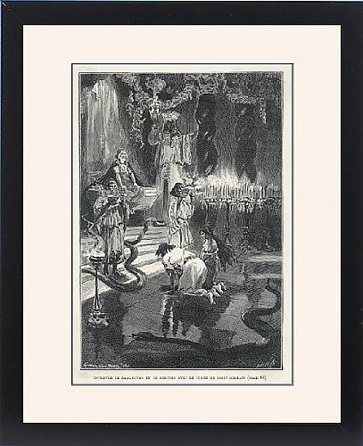Framed Print Of Cagliostro/saint-Germain by Prints Prints Prints