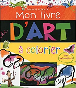 Mon Livre D Art A Colorier Amazon Fr Rosie Dickins Carles