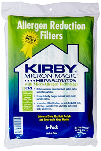 Kirby G10 G10e G10se Vacuum Cleaner Genuine Hepa Dust Bags  Pack Of 6