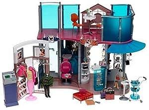 Amazon Com Barbie Fashion Show Mall Playset Toys Amp Games