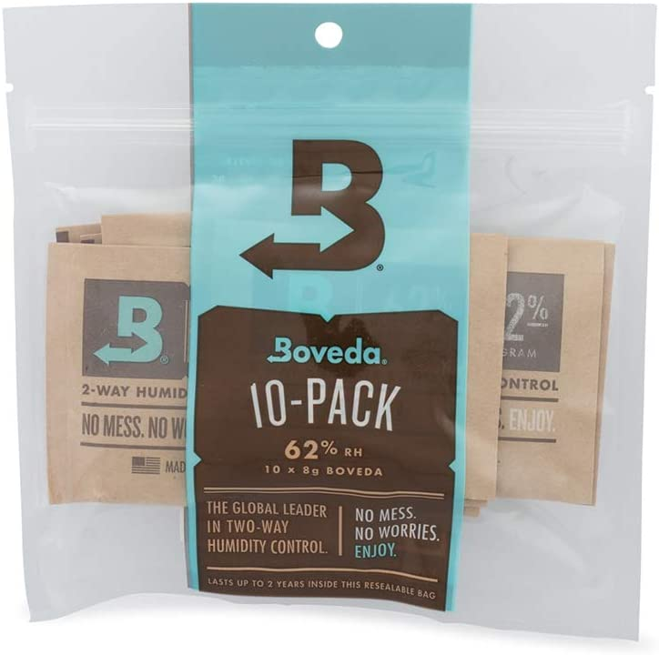 Boveda Two-Way Humidity Control Packs for Cannabis 58% RH Small