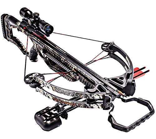 Barnett 78132 Raptor FX3 Crossbow Package with 2 Bolts, Adult