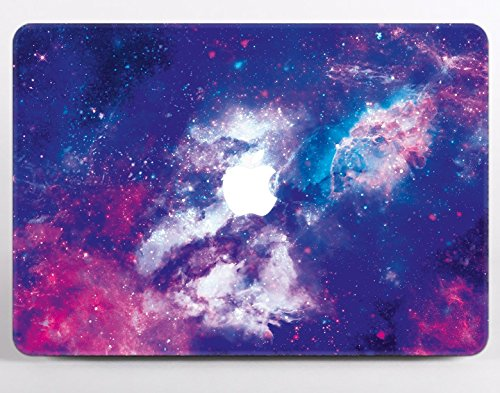 Blue Granite Shell - Macbook 12 inch Case Blue Marble Retina A1534 NEWEST Release 2017 2016 2015 Smooth Marbles Blue Granite Pattern Cracks Texture Print Crystal Clear Plastic Protective Apple Laptop Shell Cover MA2279