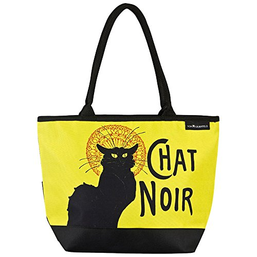 "VON LILIENFELD Borsa shopping ""Chat Noir"""