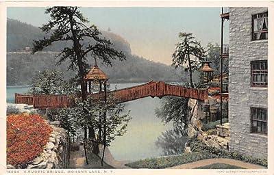 Mohonk Lake, New York Postcard