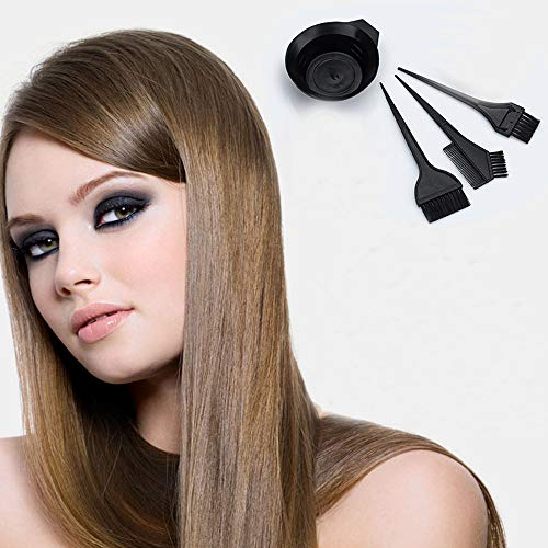 Hair Bowl Clearance , Hair Color Dye Bowl Comb Brushes Tool Kit Set Tint Coloring Bowl Set  by Little Story