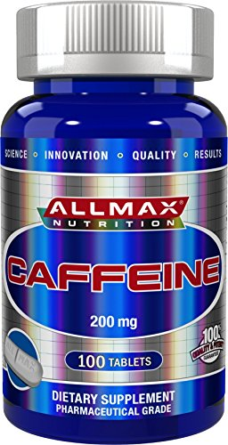 ALLMAX NUTRITION CAFFEINE for Energizing Workouts, Fat Burni