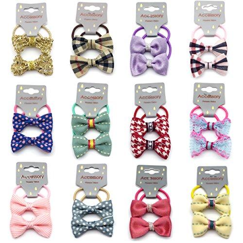 elastic mini hair ties - 6