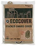 Mr. Bar-B-Q Backyard Basics Eco-Cover PVC Free Premium Stacked Chairs Cover, 30 by 27 by 42 inches Review