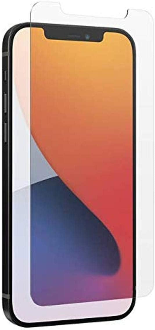 ZAGG InvisibleShield Glass Elite Anti-Glare Plus - Blocks Glare from your device - Made for iPhone 12 Pro, iPhone 12, iPhone 11, iPhone XR
