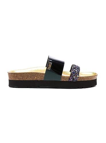 9a8e2a284cf6 Pepe Jeans Sandales Oban Mars Noir Femme  Amazon.fr  Chaussures et Sacs