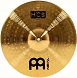Meinl Cymbals HCS16C 16'' HCS Brass Crash Cymbal for Drum Set (VIDEO)