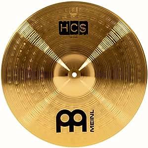 meinl cymbals hcs16c 16 hcs brass crash cymbal for drum set video musical. Black Bedroom Furniture Sets. Home Design Ideas