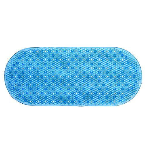 YLXD Bathtub Mat | Shower Mat | Non-Slip Bath Mat | Rubber Shower Mats,Anti Slip Safety Mats,with High Grip Suction Cups and Anti Mould Matte Finish Surface,for Bathroom Toilet Hotel