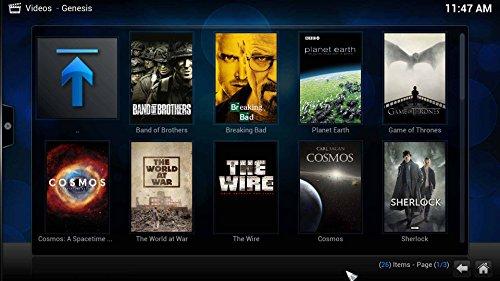 Kukele@ Plug & Play - MXQ Amlogic S805 XBMC KODI Helix 14 Addons Fully Loaded - 8GB ROM Quad Core H.265 Decoder - 1080P Full Hd Google Android 4.4 Kitkat Mini IPTV TV BOX Internet Streaming Media Player - Apps (Showbox Mobdro etc) Pre-installed - XBMC Manual