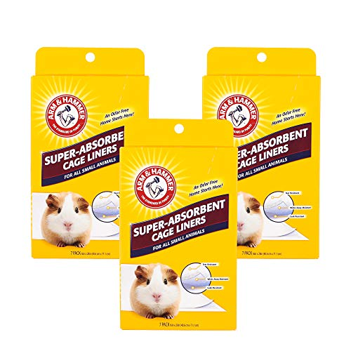 Arm & Hammer for Pets Super Absorbent Cage Liners for Guinea Pigs, Hamsters, Rabbits & All Small Animals | Best Cage…
