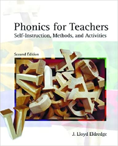 Amazon Phonics For Teachers Self Instruction Methods And