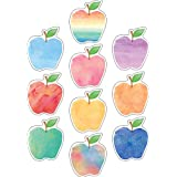 Teacher Created Resources 5611 Watercolor Apples Accents