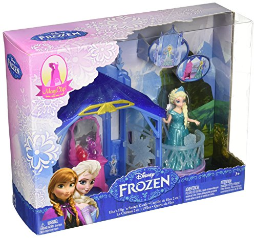Disney Frozen MagiClip Flip 'N Switch Castle and Elsa Doll ()