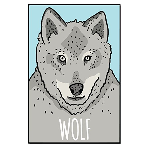 Baerg White Hair Wolf Posters 2436 Art Print Poster Wall Dec