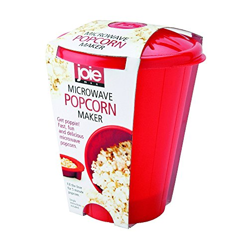 MSC International 14001 Joie Microwave Popcorn Popper Maker, Silicone, Makes (Best Personal Popcorn Popper)