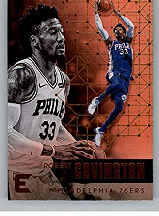 c09c01337d1a 2017-18 Panini Essentials  135 Robert Covington Philadelphia 76ers NBA  Basketball Card
