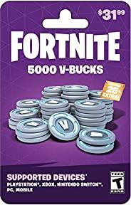 Fortnite V-Bucks Gift Card (redeem at Fortnite.com/vbuckscard)