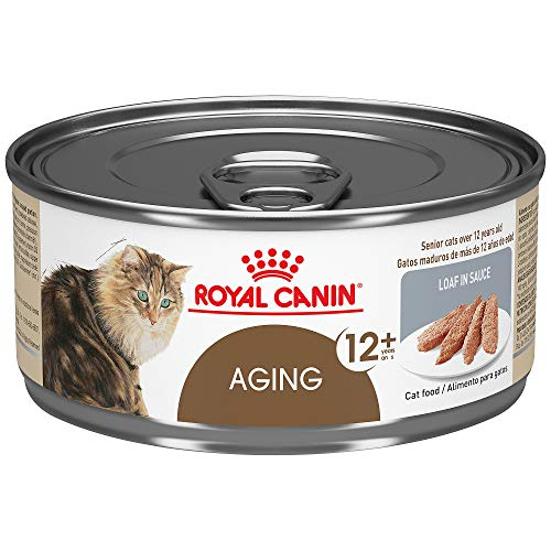 Royal Canin Aging 12+ Loaf in Sauce Wet Cat Food, 5.8 oz.