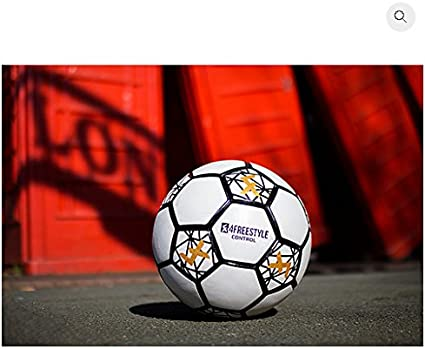 4Freestyle Control Ball fútbol y el fútbol Freestyle (5): Amazon ...