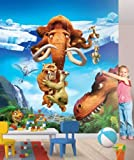 Kids Photo Wallpaper Wall Mural Poster Ice Age picture decoration for Children's Room Wall Tattoo/Sticker Border Kids Children Wallpaper Wall Mural