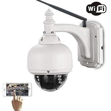LLCOFFGA CáMara De Vigilancia WiFi GrabacióN De Audio HD ...