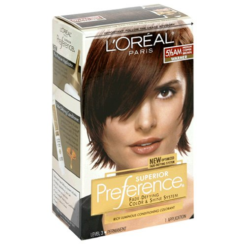 Conditioning Colorant - Superior Preference Rich Luminous Conditioning Colorant, Warmer, Medium Copper Brown 5 1/2 AM (Pack of 3)