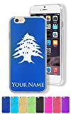 Case for iPhone 7 PLUS - Flag of Lebanon - Personalized Engraving Included