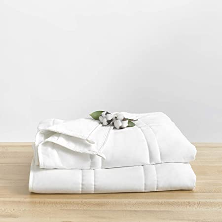 Baloo Soft 9kg Weighted Blanket, Heavy Cotton Quilted Blanket