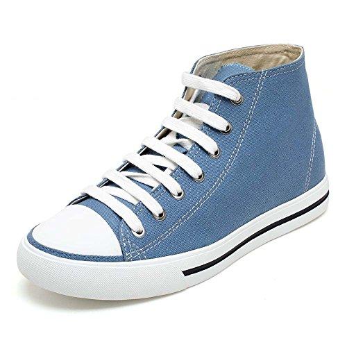H52c08k011d Alto Sneaker Ginnastica Cm Da Fino A Chamaripa Blu Canvas Con Uomo Collo Rialzo Scarpe 6 zwFx6qCS