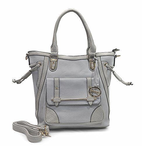 Sorrentino Women's Handbag No. 727 Large Tote (Grey)