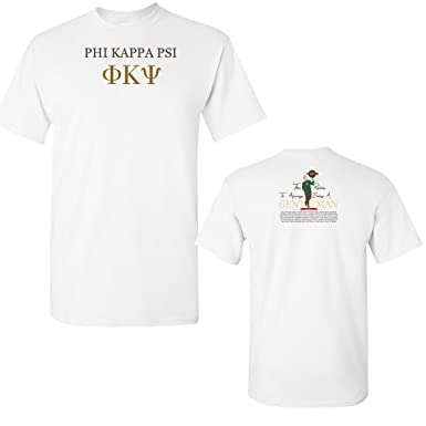 be9092d4523906 VictoryStore Phi Kappa Psi Gentleman Shirt at Amazon Men s Clothing ...