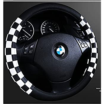 Suede Union Jack Steering Wheel Grip Cover for Mini Cooper R50 R53 R56 R56N F55 F56 R55 R52 R57 R58 R59 R60 R61